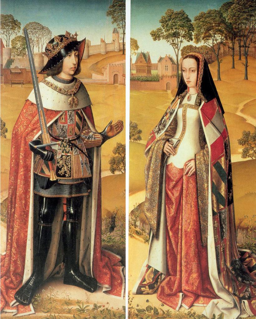 se remonta al reinado de Juana la Loca y Felipe el Hermoso en la Castilla de finales del siglo XV.