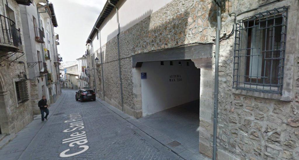 Parking_calle_san_pedro_cuenca_mirandoacuenca.es